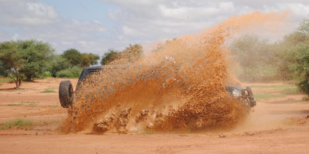 泥はね運転の防止