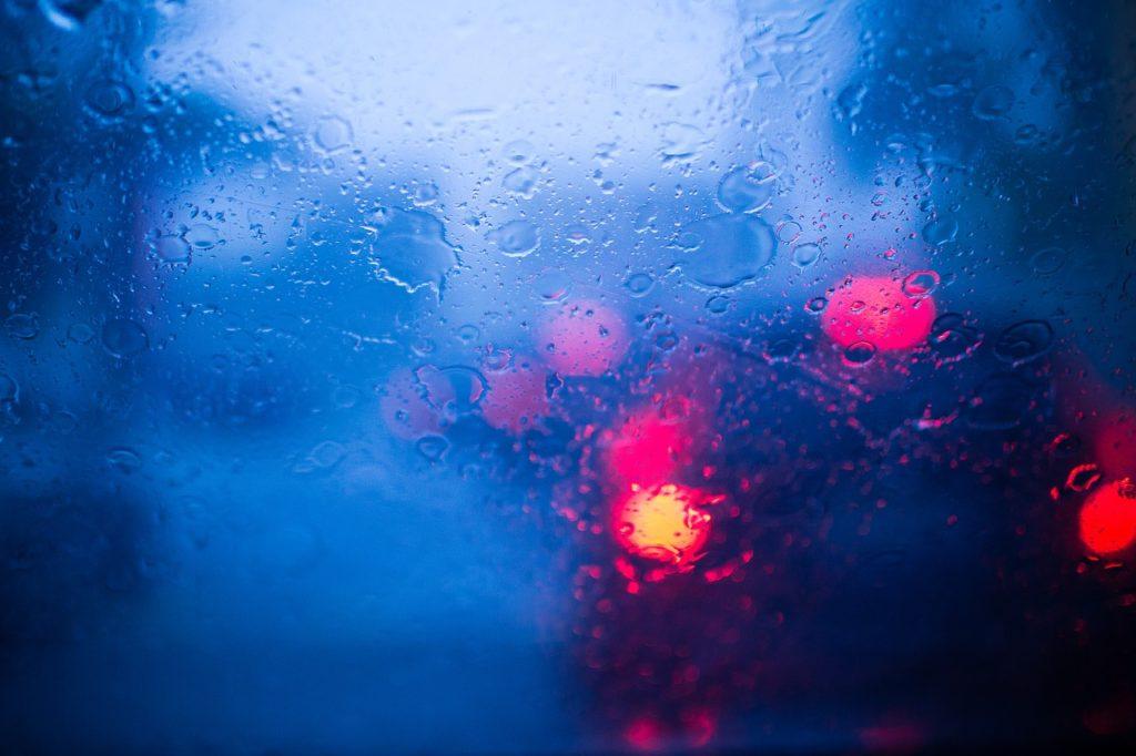 雨のときの運転